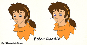 Peter doodle by PeterSassyPan