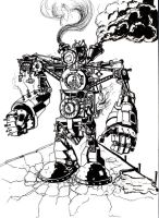 Steampunk BOT by foreign-body