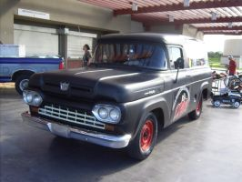 1960 Ford F100 panel wagon by Mister-Lou