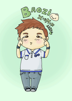 Baozi Cute gif by SwagSagwa