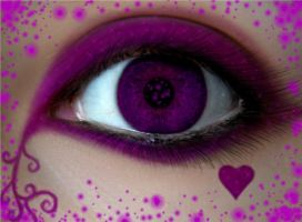 The Purple Eye by littledragon131313