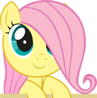 Cute Fluttershy by flamp1
