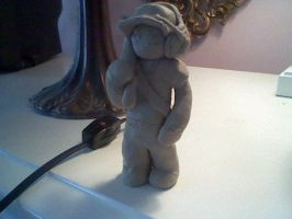 clay scout wet and unpainted by ninjataz