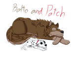 Balto and Patch by Taikoku