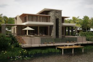 Lake House by zodevdesign