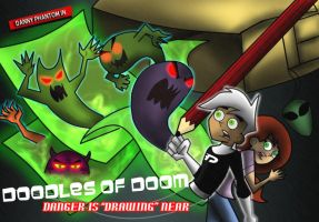 Danny Phantom -Doodles of DOOM by DannyPhantomAddict