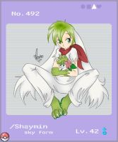 Shaymin for Gijinka by mr-tiaa