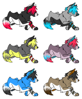 Adoptables: Scene Dogs CLOSED by Chocoplan