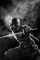 GIJOE SNAKE EYES by galindoart