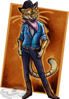 Texas Tigress by ChaosCanine