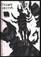 Striped Vector Concept Sketches by Dead-Jackal