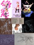 Sketchdump 3 by ResidentialPsycho