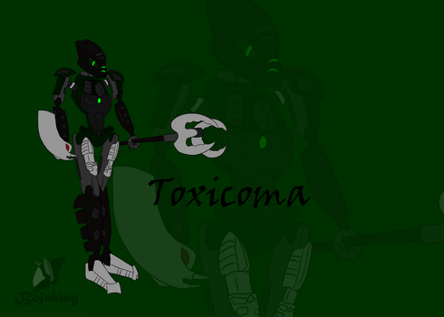 Toxicoma Poster by Bojaking