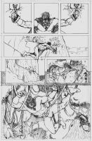 Space Ghost page 2 pencils by CrimeRoyale