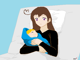 new baby and luxembourg by NAMIHATAKE6