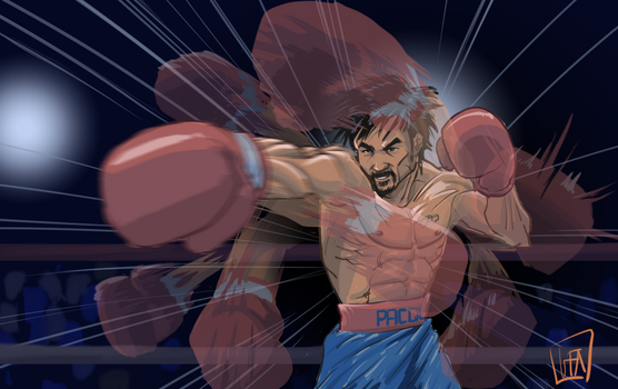 Manny Pacquiao by leopoldio