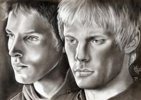 Merlin and Arthur 2 by enednoviel