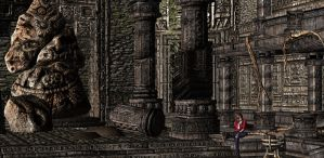 'Joe Dever's Lone Wolf HD' Temple Shrine XPS ONLY! by lezisell
