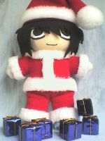 L in Santa Claus Cosplay by VioletLunchell