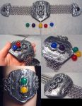 Not So Simple Materia Bracelet by wickedorin