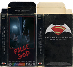 VHS Art: Batman v Superman Dawn of Justice Boxart by SoenkesAdventure