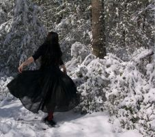 Winter Witch 3 by HauntingVisionsStock