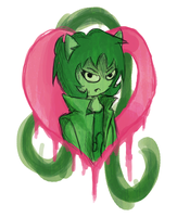 Heart Player Nepeta by snapperboy