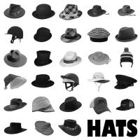 28 Hats PS Brushes Set 2 by Anavrin2010