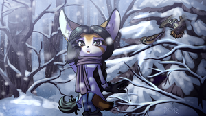 The one who hates cold by Deroko