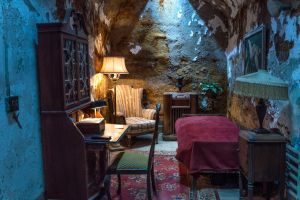 Eastern State Penitentiary, Al Capone's Cell by Jonathan-Flash