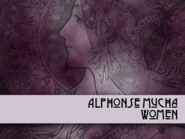 Alphonse Mucha Women by remittancegirl
