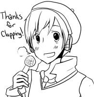 Clap thankyou thing by Japychan