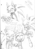 Zonic sketches by SweetSilvy