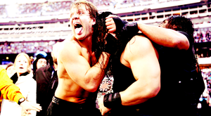 WWE The Shield Wrestlemania 29 Wallpaper! by xFadexToxNeonx3