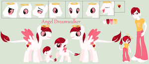 Angel Dreamwalker Ref (BIG) by PyscoSnowflake