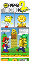 NSMB 2 Comics: The Golden Flower by Kopejo