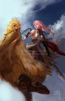 Lightning from FF 13 by young-street