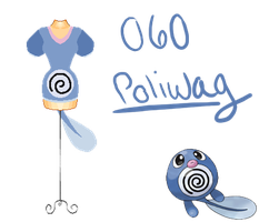 Pokedresses - 60 - Poliwag by AK-Manga