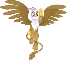 Epic Gilda by drawponies