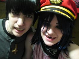 Murdoc and 2D test 11 by clockworkcosplay