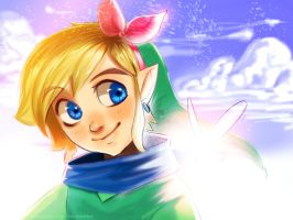 The boy, the fairy, and infinity by Kim-SukLey