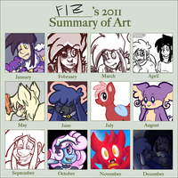 2011 Year in Bad Drawings by FizTheAncient
