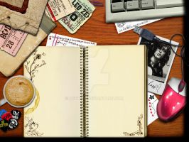 a fangirl desk by dethita