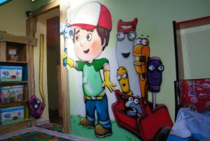 boy's room graffiti 4aero by aniaart