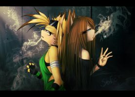 :GF: I'm breathing in... the chemicals by Keitronic