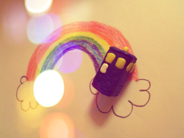 There's a TARDIS at the End of My Rainbow by NovumAurora