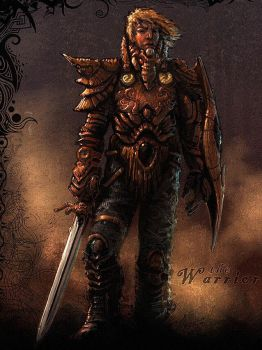 The Warrior by dominuself