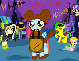 Mlp_ Happy Nightmare Night from Dolly! by cottoncloudyfilly