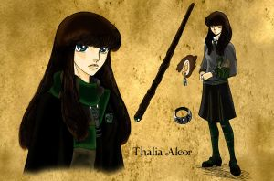 Contest- Thalia Alcor by Dhesia
