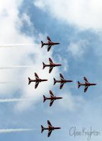 The Red Arrows by Clerdy